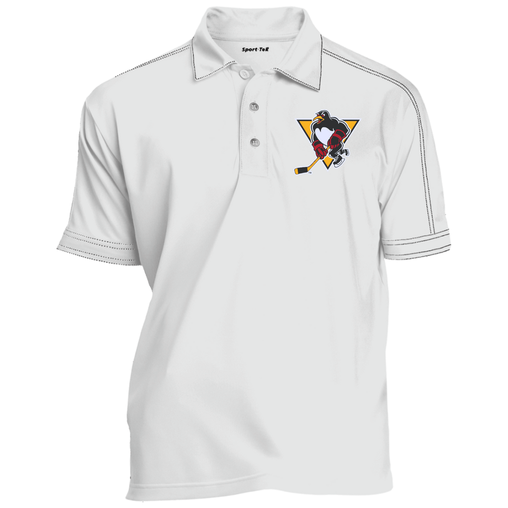 Wilkes-Barre/Scranton Penguins Contrast Stitch Performance Polo