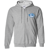 Syracuse Crunch Embroidered Zip Up Hooded Sweatshirt