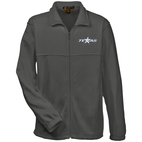 Texas Stars Adult Embroidered Fleece Full-Zip