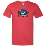 Springfield Thunderbirds Primary Logo Long Sleeve V-Neck T-Shirt