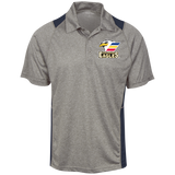 Colorado Eagles Heather Moisture Wicking Polo