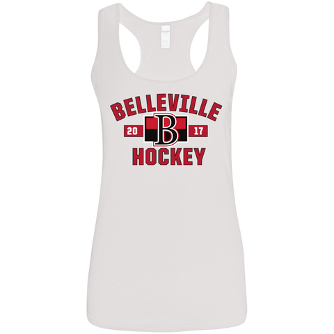 Belleville Senators Ladies' Established Racerback Tank