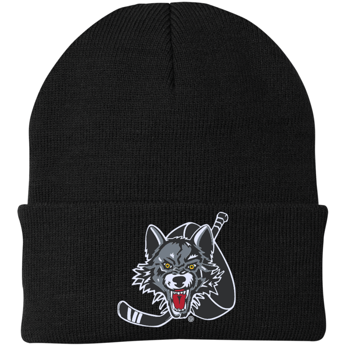 Chicago Wolves Knit Cap
