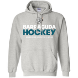 San Jose Barracuda Hockey Primary Logo Adult Pullover Hoodie
