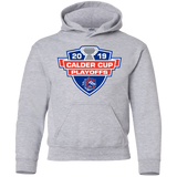 Bridgeport Sound Tigers 2019 Calder Cup Playoffs Youth Pullover Hoodie
