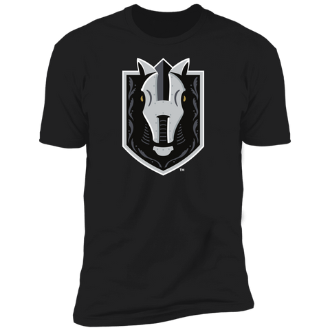 Henderson Silver Knights Adult Primary Logo Next Level Premium Short Sleeve T-Shirt