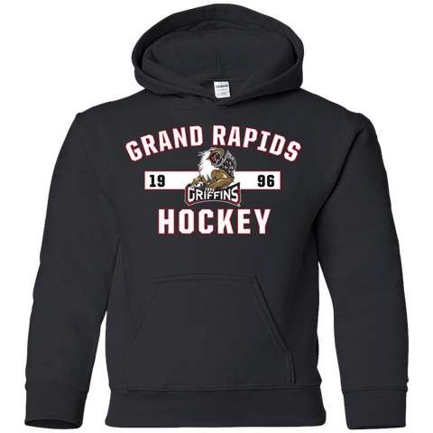 Grand Rapids Griffins Youth Established Pullover Hoodie