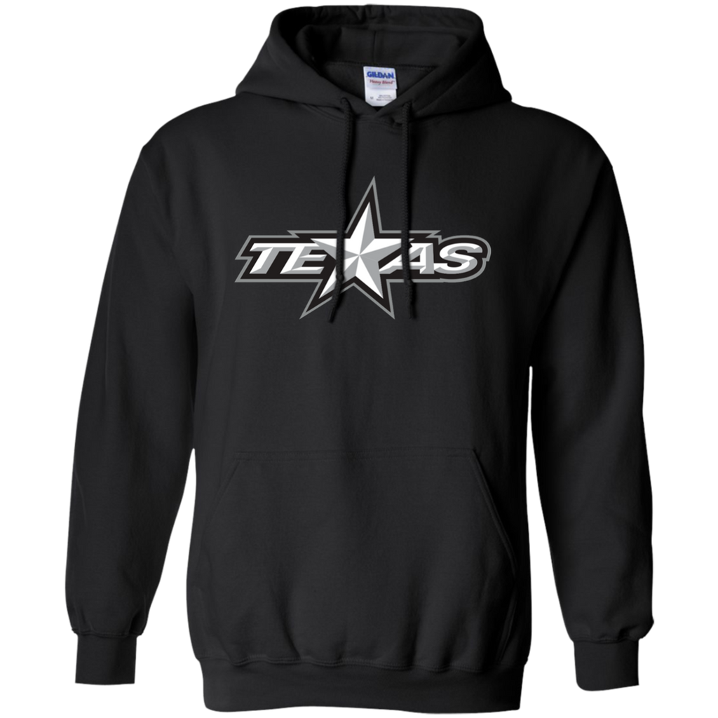 Texas Stars Primary Logo Adult Pullover Hoodie