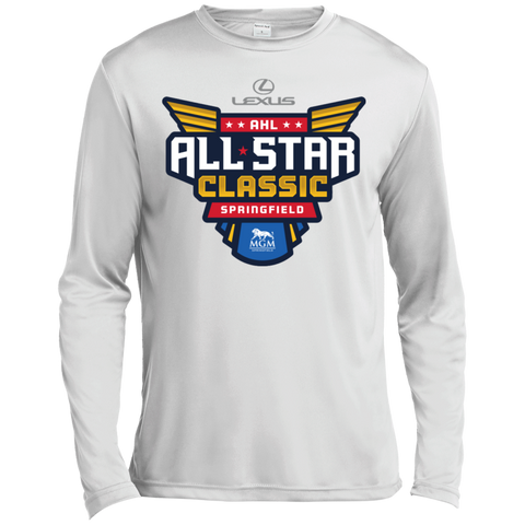 2019 AHL All Star Classic Primary Logo Long Sleeve Moisture Absorbing T-Shirt