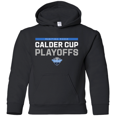 Manitoba Moose Youth 2018 Postseason Pullover Hoodie