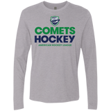 Utica Comets Hockey Adult Next Level Men's Premium Long Sleeve Shirt
