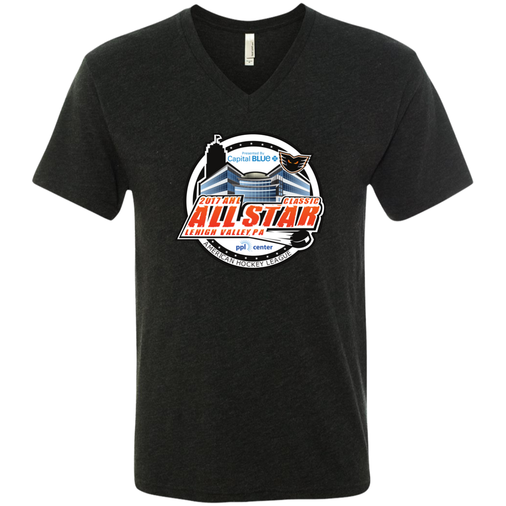 2017 AHL All-Star Classic Men's Next Level Triblend V-Neck Tee