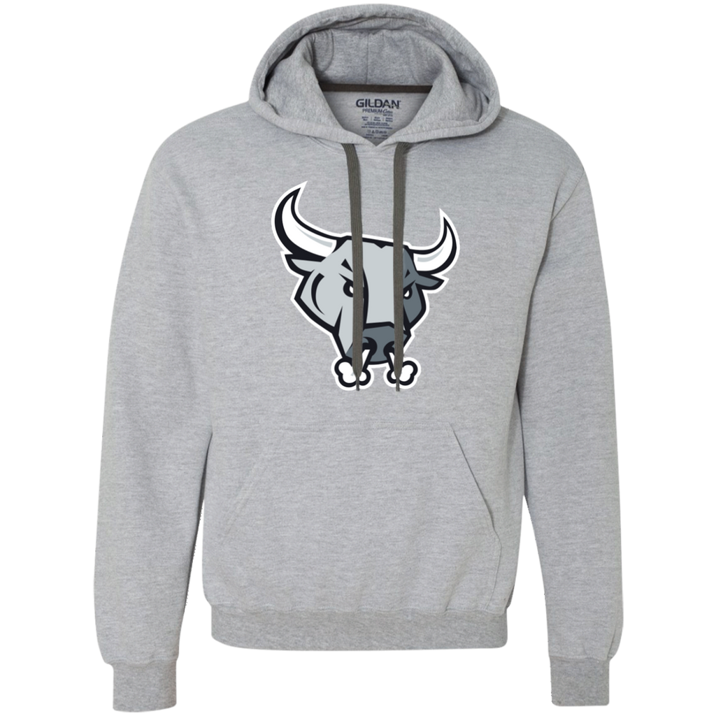 San Antonio Rampage Primary Logo Adult Heavyweight Pullover Fleece Sweatshirt
