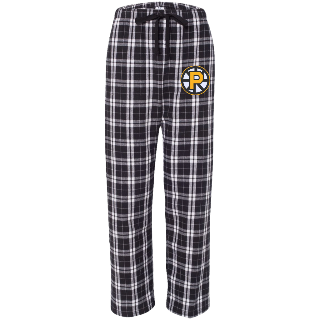Providence Bruins Unisex Custom Embroidered Flannel Pants