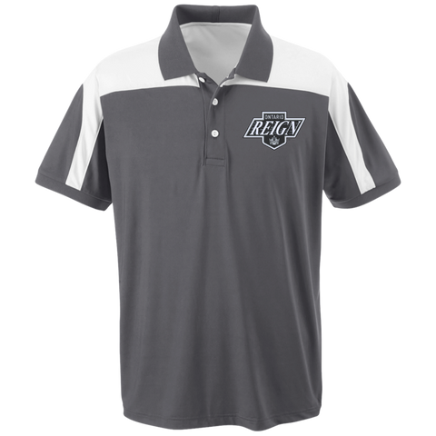 Ontario Reign Team 365 Colorblock Polo (Sidewalk Sale)