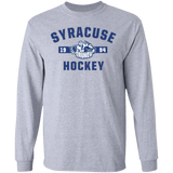 Syracuse Crunch Adult Established Long Sleeve Cotton T-Shirt