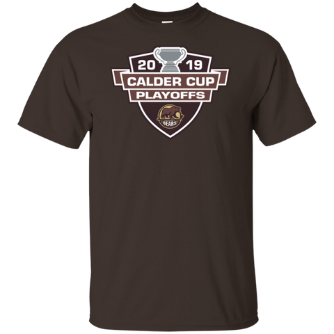 Hershey Bears 2019 Calder Cup Playoffs Adult Cotton Short Sleeve T-Shirt