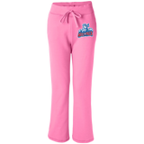 Hartford Wolf Pack Women's Open Bottom Sweatpants with Pockets