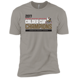 Grand Rapids Griffins 2017 Calder Cup Champions Athletic Next Level Men's Premium Short Sleeve T-Shirt