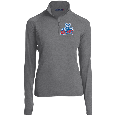 Hartford Wolf Pack Women's Half Zip Performance Pullover
