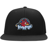 Rockford IceHogs Flat Bill High-Profile Snapback Hat