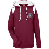 Chicago Wolves Adult Team 365 Colorblock Poly Hoodie