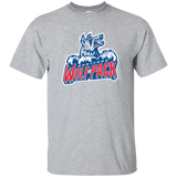 Hartford Wolf Pack Primary Logo Adult Short Sleeve T-Shirt