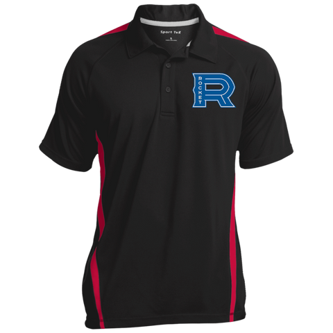 Laval Rocket Men's Colorblock 3-Button Polo