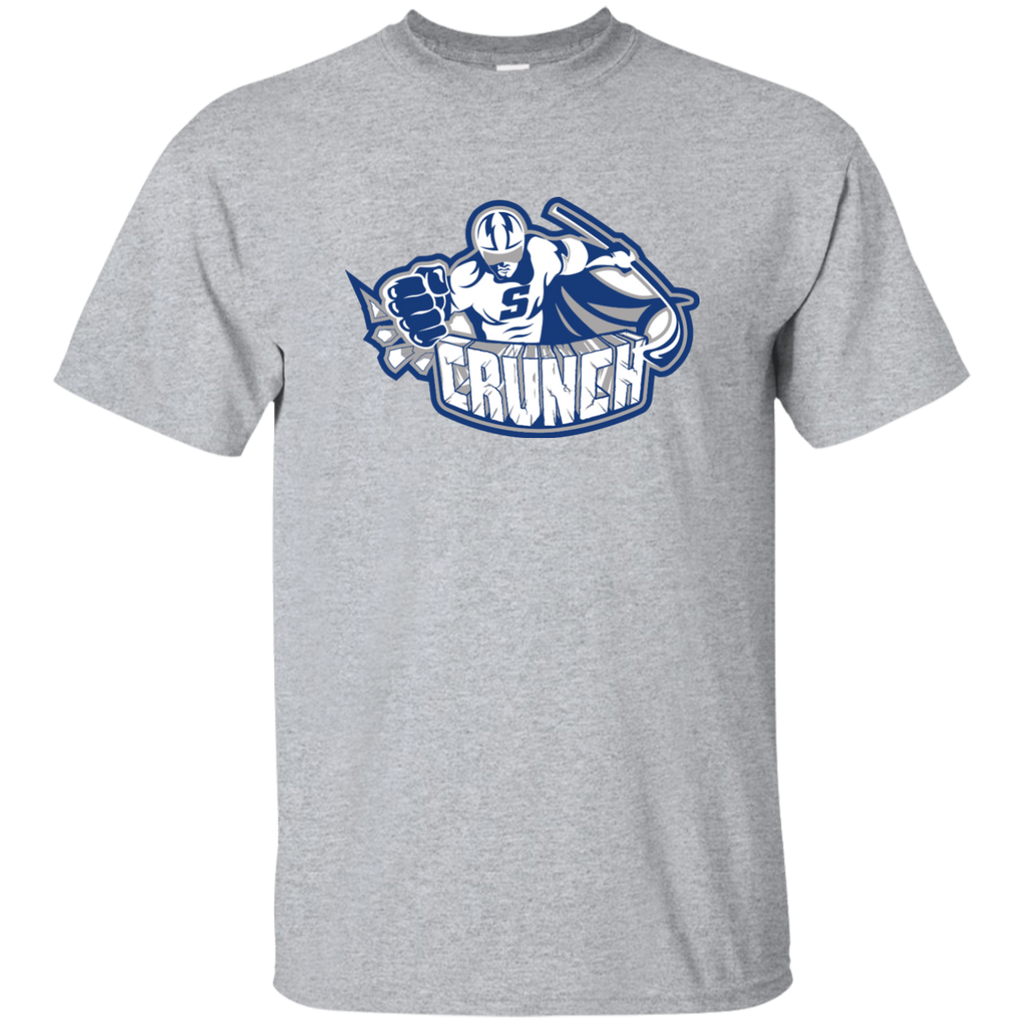 Syracuse Crunch Primary Logo Adult Short Sleeve T-Shirt