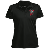 Binghamton Devils Women's Micropique Tag-Free Flat-Knit Collar Polo
