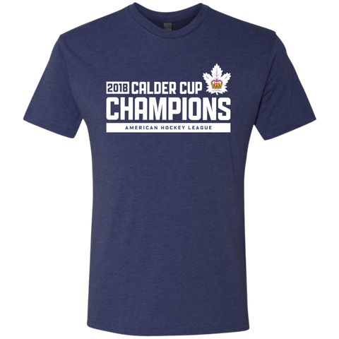 Toronto Marlies 2018 Calder Cup Champions Next Level Men's Raise the Bar Triblend T-Shirt