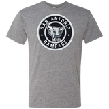 San Antonio Rampage Circle Logo Next Level Men's Triblend T-Shirt
