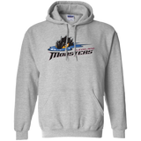 Cleveland Monsters Primary Logo Adult Pullover Hoodie 8 oz