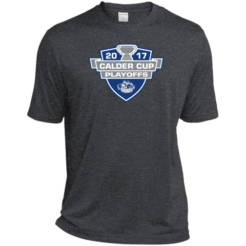 Syracuse Crunch Adult 2017 Calder Cup Playoffs Heather Dri-Fit Moisture-Wicking T-Shirt