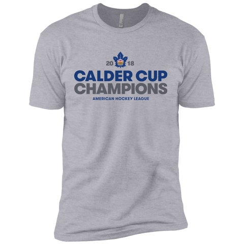 Toronto Marlies 2018 Calder Cup Champions Next Level Premium Crown Short Sleeve T-Shirt