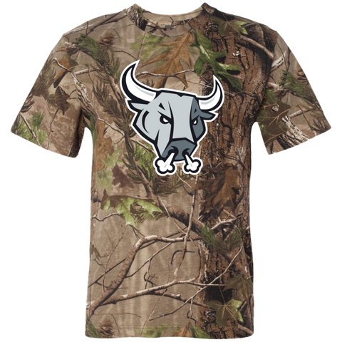 San Antonio Rampage Primary Logo Adult Short Sleeve Camouflage T-Shirt