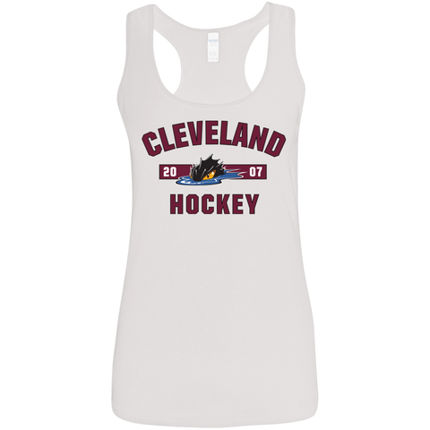 Cleveland Monsters Ladies' Established Softstyle Racerback Tank