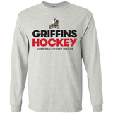 Grand Rapids Griffins Hockey Youth Long Sleeve T-Shirt
