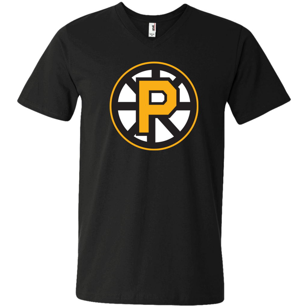 Providence Bruins Men's Printed V-Neck T
