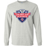 Rochester Americans Adult 2018 Calder Cup Playoffs LS Ultra Cotton T-Shirt