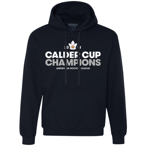 Toronto Marlies 2018 Calder Cup Champions Adult Crown Heavyweight Pullover Fleece Sweatshirt