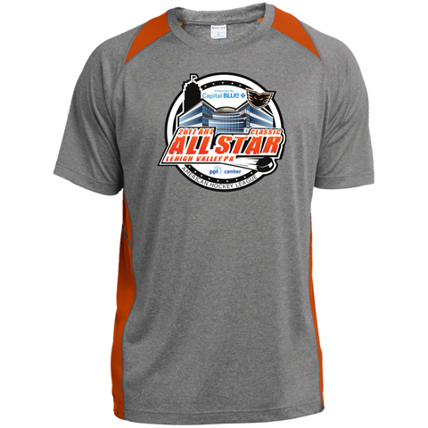 2017 AHL All-Star Classic Heather Colorblock Poly T-Shirt