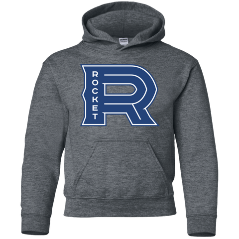 Laval Rocket Primary Logo Youth Pullover Hoodie