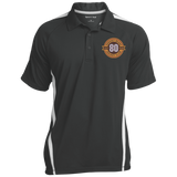 Hershey Bears 80th Anniversary Men's Colorblock 3-Button Polo