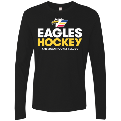 Colorado Eagles Hockey Next Level Men's Premium Long Sleeve T-Shirt