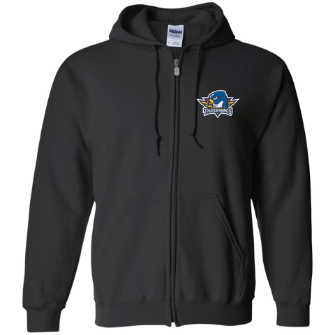 Springfield Thunerbirds Zip Up Hooded Sweatshirt