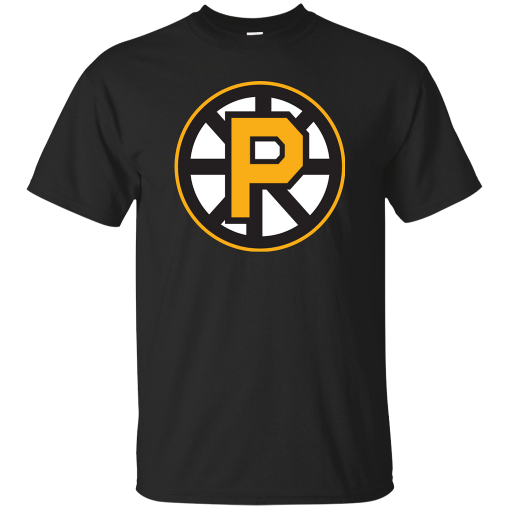 Providence Bruins Primary Logo Adult Short Sleeve T-Shirt (sidewalk sale)