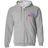 Rochester Americans Adult Zip Up Hooded Sweatshirt