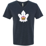 Toronto Marlies Men's Next Level Triblend V-Neck T-Shirt