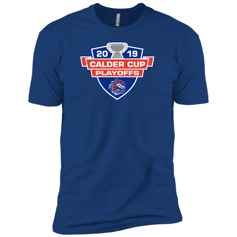 Bridgeport Sound Tigers 2019 Calder Cup Playoffs Next Level Premium Short Sleeve T-Shirt